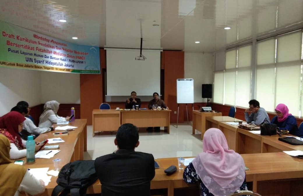 PLHBH UIN Jakarta holds certified mediator education and training